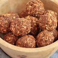 Healthy Peanut Butter Energy Balls