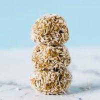 Coconut Vanilla Shakeology Protein Balls