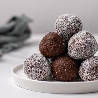 Chocolate Keto Fat Bombs (Peanut Butter & Coconut Oil)