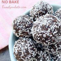 Vegan keto energy balls no bake - Family On Keto