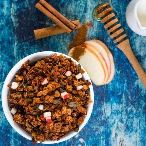 Fresh Apple Cinnamon Granola