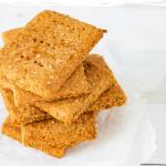 Homemade graham crackers pin