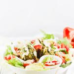 Falafel Salad Bowl Pin