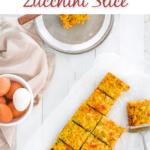 Gluten Free Zucchini Slice