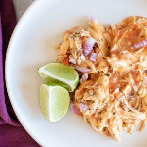 Thai inspired instant pot shredded chicken