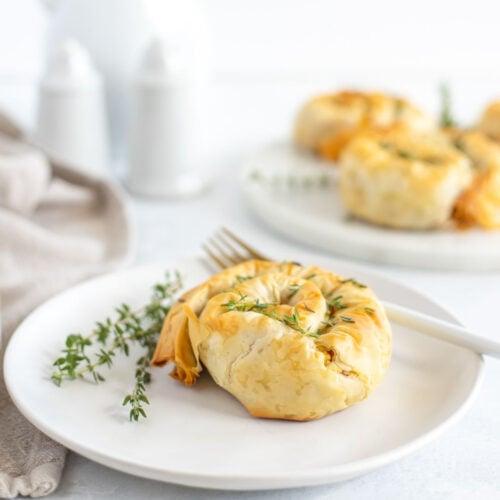 Feta and Pumpkin Phyllo (Filo) Savory Hand Pies