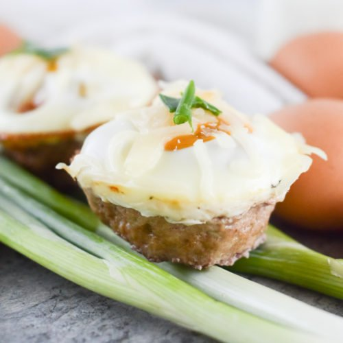 Grab and Go Pork Sausage Egg Muffin Cups