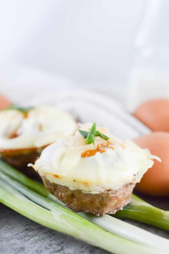 Pork Sausage and Egg Muffin Cups